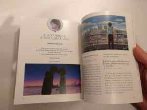 Déballage de lLivre collector Kimi no Na wa'édition collector limitée française de Kimi no Na Wa
