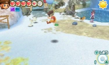 【牧場物語 3つの里の大切な友だち】雪玉の使い道・雪玉を投げて入手できるアイテム一覧