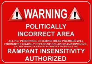 politically incorrect zone