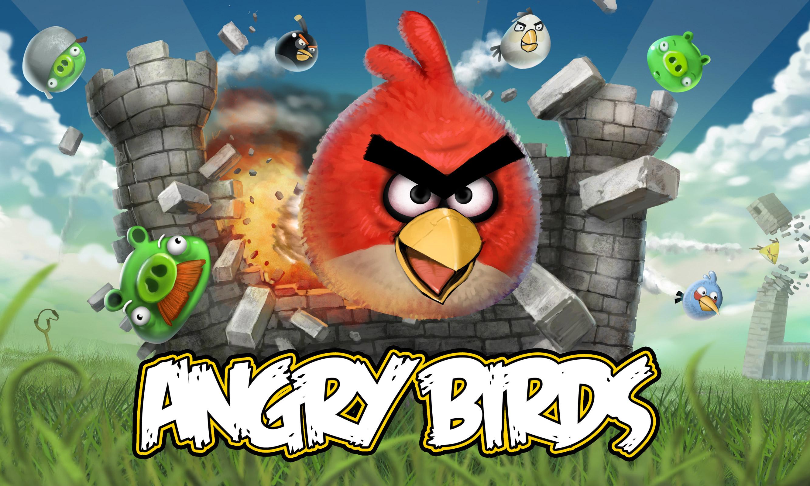 Angry Birds Desktop Wallpapers  Angrybirdsnest