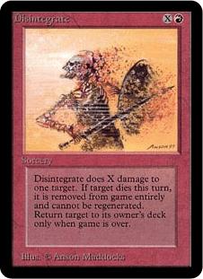 mtg disintegrate