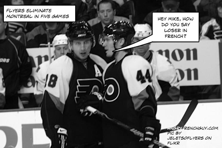 Flyers beat Montreal
