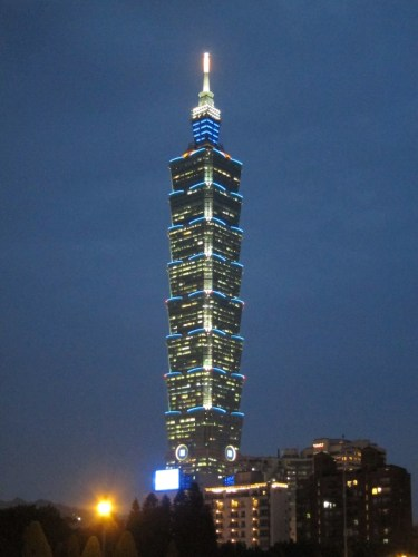 Taipei 101, a popular background for rice queen profile pictures