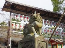 A koma-inu in Kyoto.