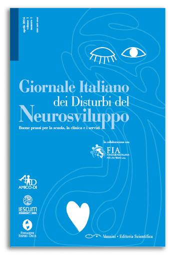 Book Cover: Giornale Italiano dei Disturbi del Neurosviluppo