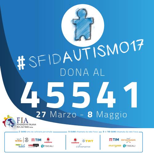 Angsa con la campagna della Fondazione Italiana Autismo