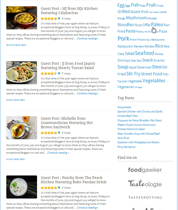 Food blogging tips for starters ang sarap second stage participate and get known with bloggers forumfinder Choice Image