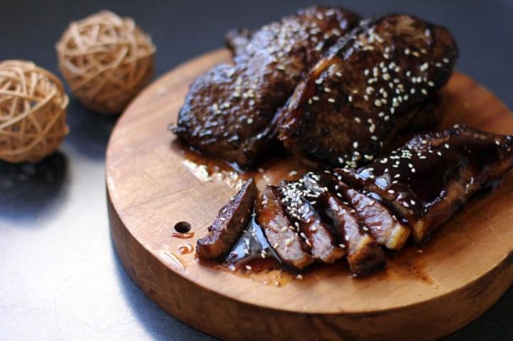 Beef Teriyaki Wide