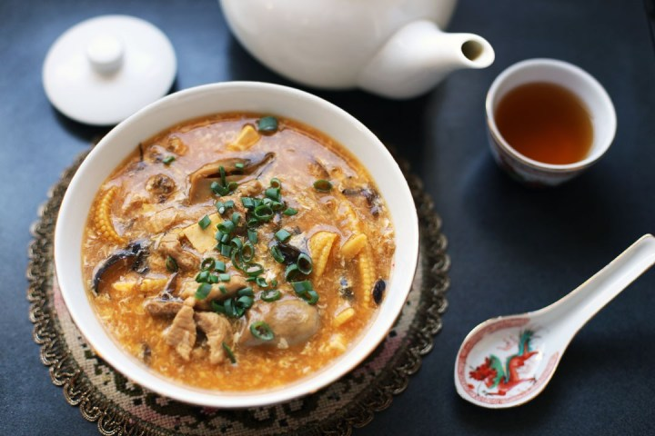 Hot and Sour Soup Wide