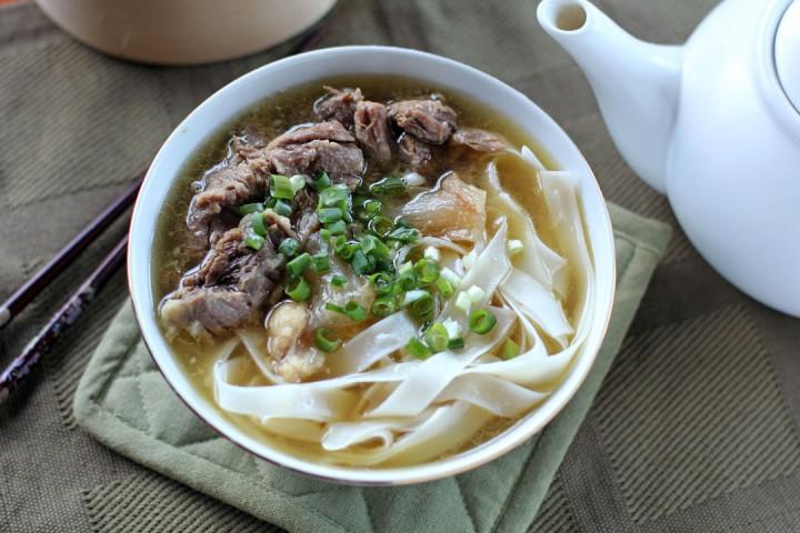 Kau Kee Beef Brisket Noodle Soup Wide