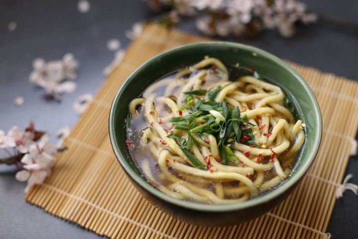 Udon Noodle Soup Wide