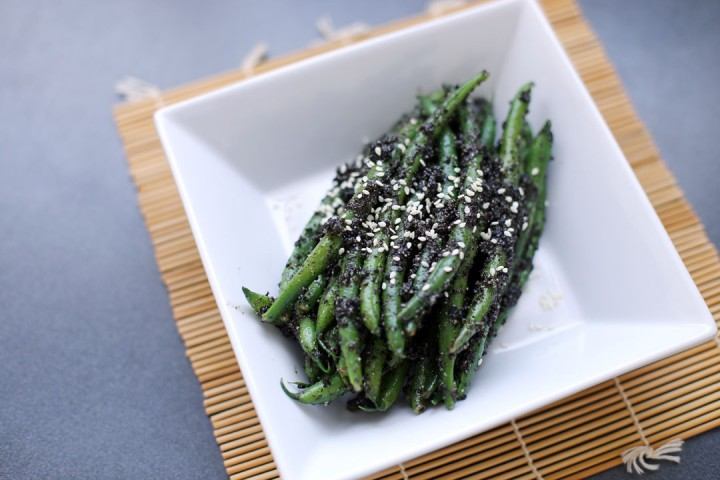 Beans & Black Sesame Paste Wide