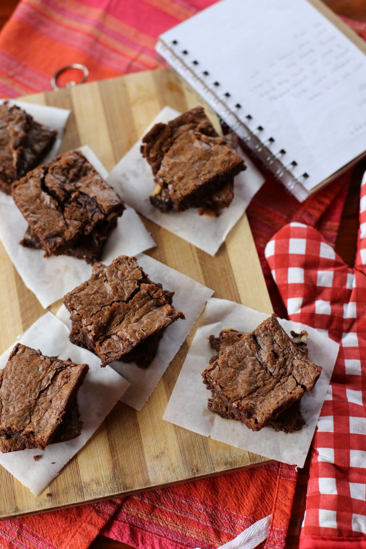 Three Ingredient Nutella Brownies