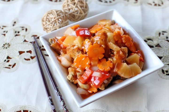 Sweet and Sour Fish Wide