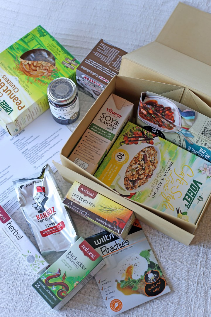 Foodie Box Contents