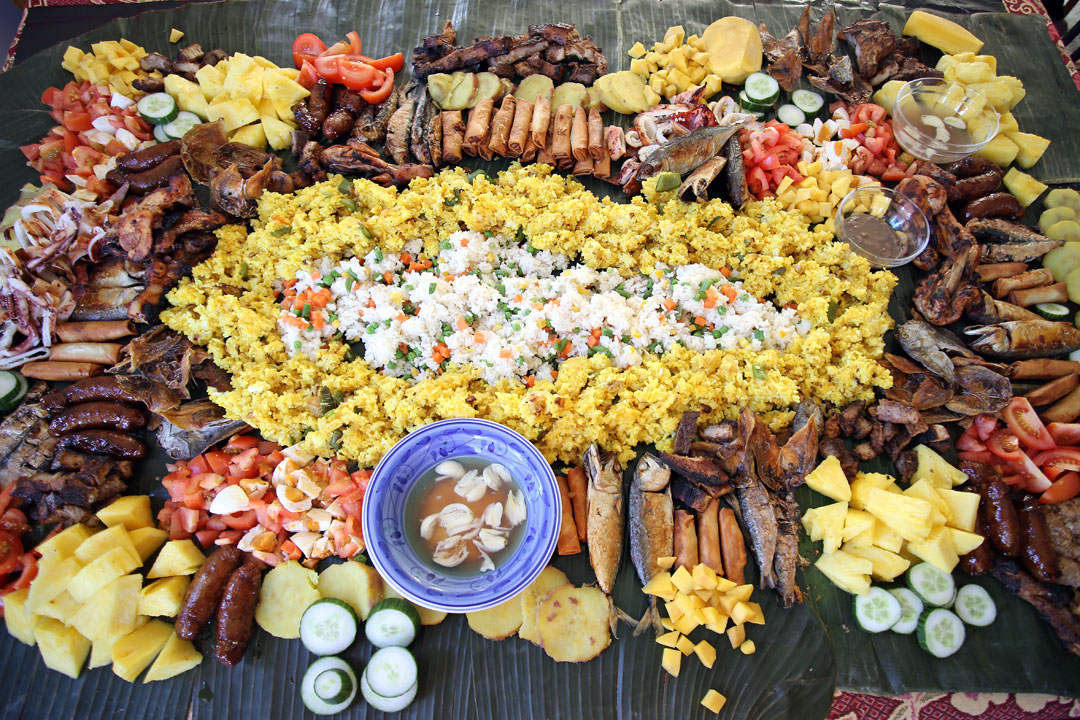 What Is A Boodle Fight Ang Sarap