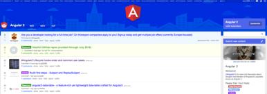 Angular 2 Subreddit