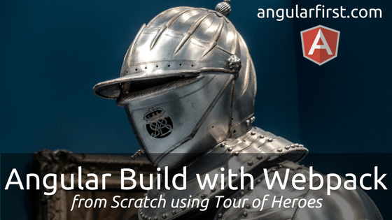 Angular Build with Webpack Hero