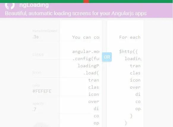 ng-loading 0.7 opacity