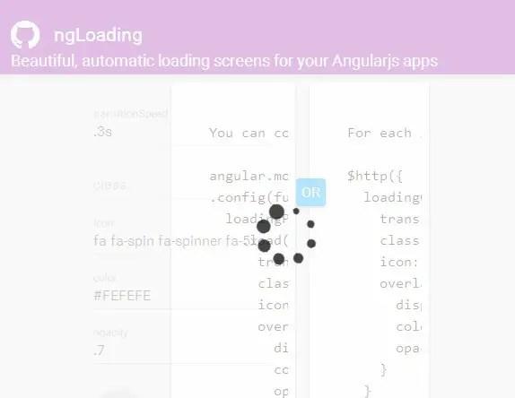 ng-loading spinner