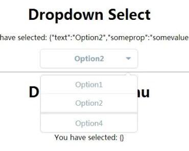 angular-dropdowns Dropdown Select