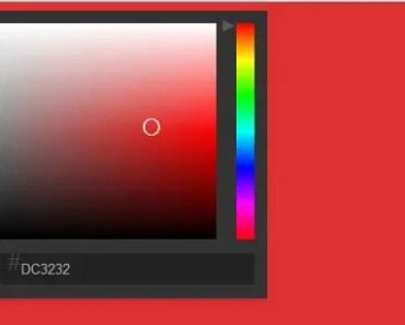 Simple Native AngularJS Color Picker