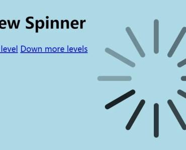 Angular UI View Spinner