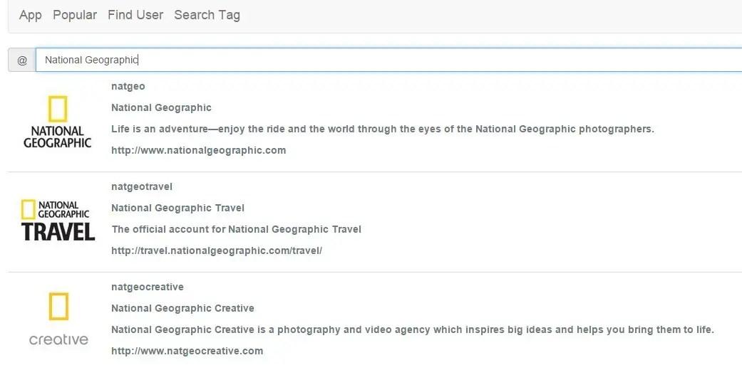 AngularJS Service For Instagram API Find Users