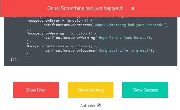 ng-notifications-bar Error Bar