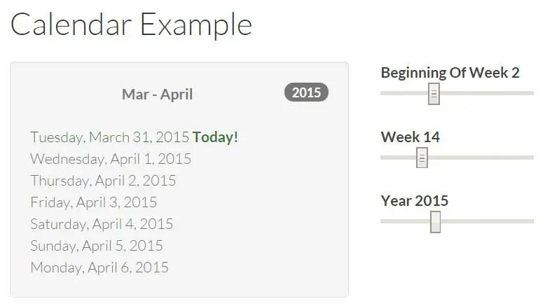 Bootstrap 3 Calendar Date Picker | Personalized Calendar Magnets