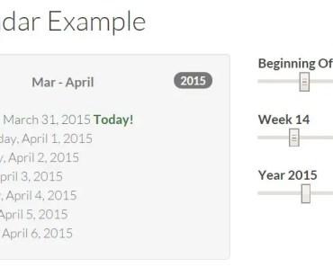 Angular Calendar Calendar Example