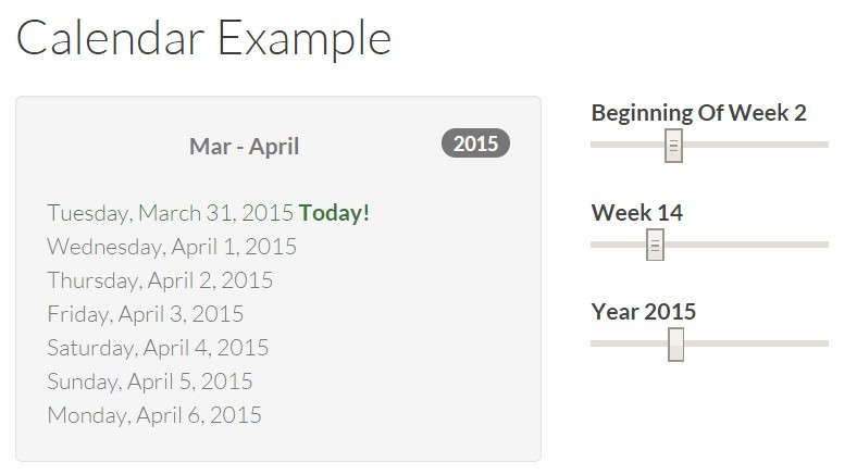 Time and Date Utility Module For AngularJS - Angular Calendar