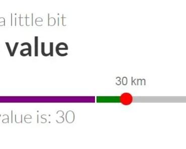 angular-awesome-slider Single Value