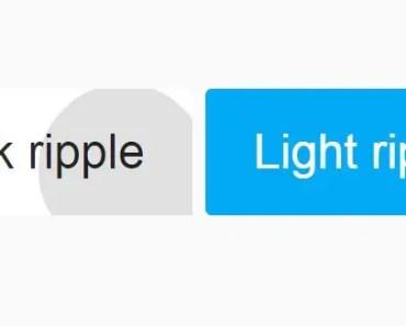 Angular Directive To Create Ripple Effect