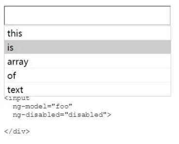 Angularjs Single or Multi Autocomplete
