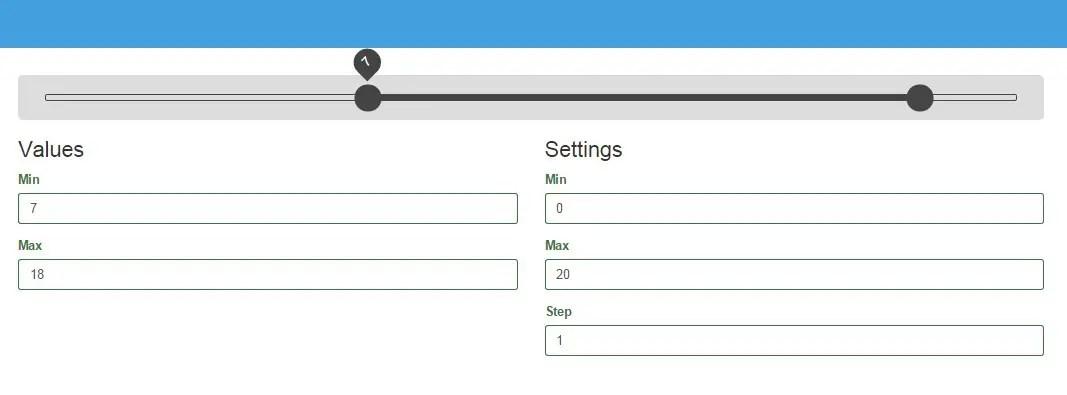 Fast Mobile-Friendly Range Slider For Angular App | Angular