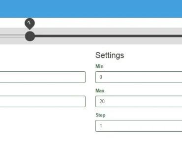 Fast Mobile-Friendly Range Slider For Angular App