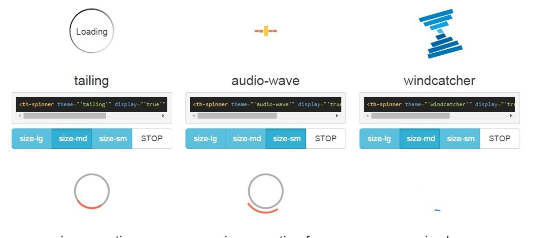 AngularJS Module For Themeable Loading Indicators