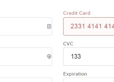 Simple AngularJS Directive For Credit Card Input