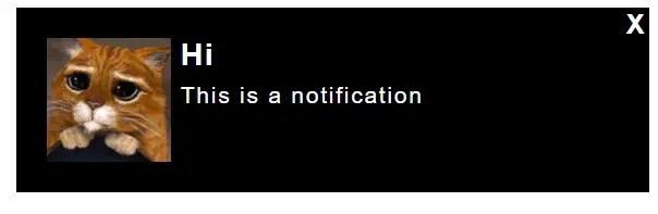 Notifications in AngularJS