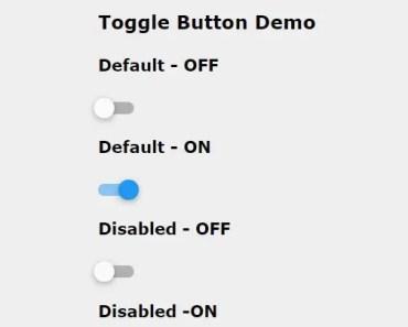 AngularJS Directive To Create Nice Toggle Switches