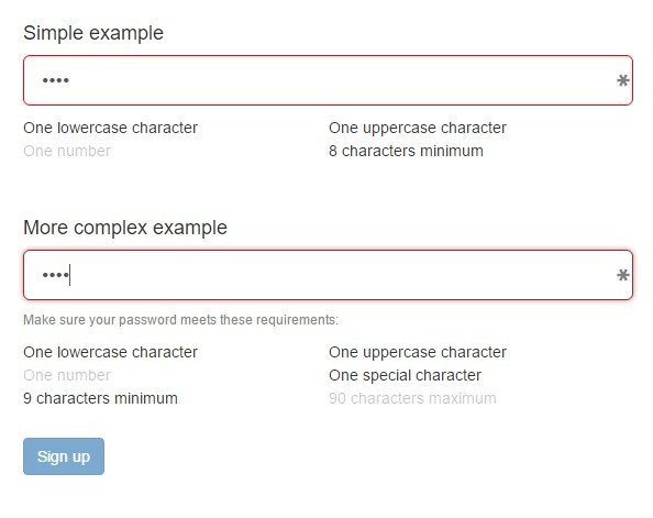 Trusty Password Security Checklist For Angular