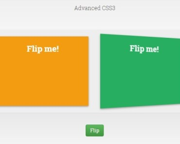 3D Card Flip Effect with Angular and CSS3
