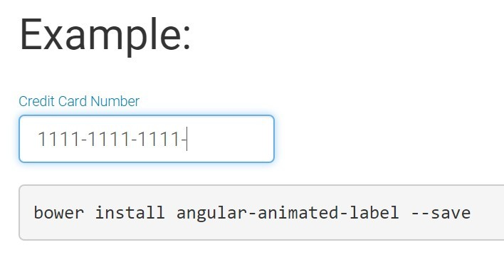 Animated Floating Placeholder with AngularJS