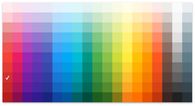 color pallette picker