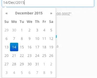 Fast and Lightweight Angular Bootstrap Datepicker