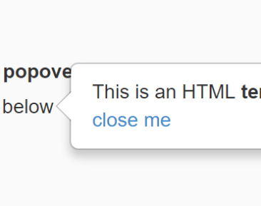 AngularJS popover Components And Modules - Angular Script