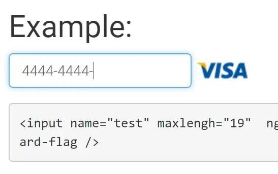 Credit Card Flag Directive For AngularJS