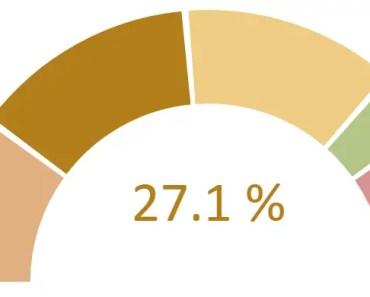 Lightweight Gauge Doughnut Chart For AngularJS