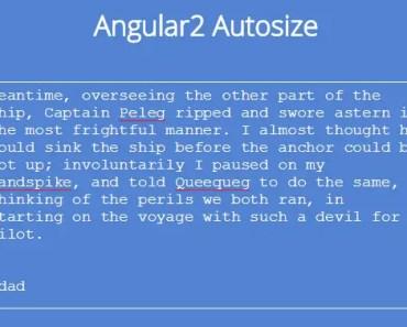 angular2-autosize